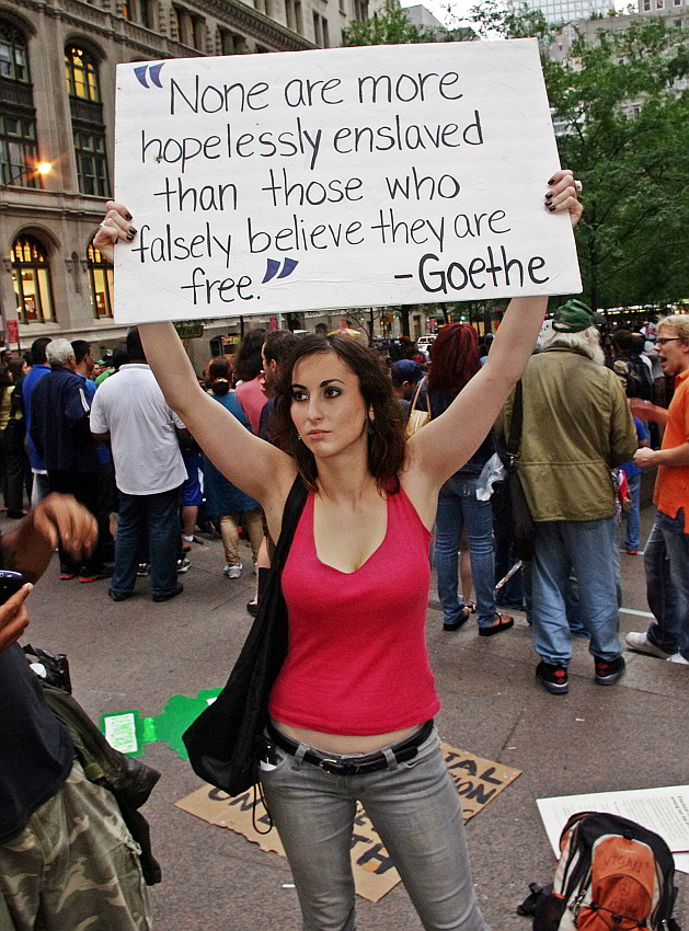 Tag 12, Occupy Wall Street (Copyright by David Shankbone / CCL)